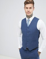 Gianni Feraud Slim Fit Wool Blend Heritage Donnegal Suit vest