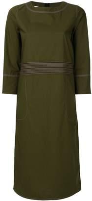 Marni stitch detail shift dress