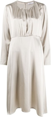 Fabiana Filippi Pleated Midi Dress