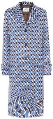 Prada Printed coat
