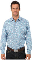 Stetson Surfs Up Paisley Print On Poplin