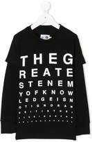 Nununu printed long sleeve T-shirt