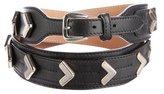 Temperley London Embellished Leather Belt