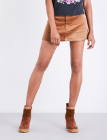 Marc Jacobs A-line corduroy mini skirt