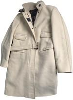 Fay Beige Wool Coat for Women