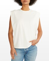 Thumbnail for your product : ÉTICA Anais Strong-Shoulder Top