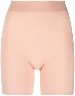 Wolford Cotton Countour Control Shorts