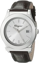 Salvatore Ferragamo Men's FF3970014 1898 Stainless Steel Watch with Leather Band