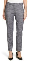BOSS Women's Tifyna Wool Blend Straight Leg Pants