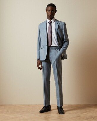 Ted Baker Micro Check Suit Trousers
