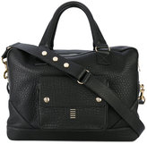 Balmain grained weekend bag - men - Leather - One Size