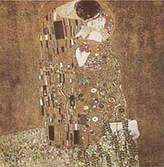 Gustav 1art1 Posters Klimt Poster Art Print - The Kiss, 1908 (27 x 27 inches)