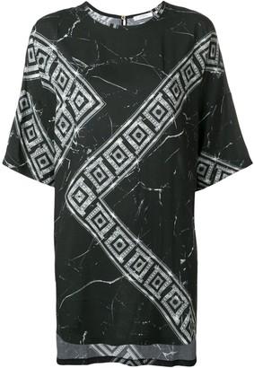 Versace Greek Key print T-shirt