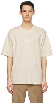 Acne Studios Beige Embroidered T-Shirt