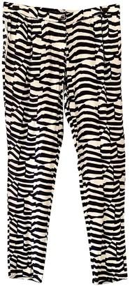 Armani Jeans Multicolour Trousers for Women