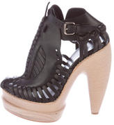 Proenza Schouler Platform Caged Sandals