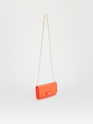 Ted Baker Bow Detail Crossbody Matinee Purse - Orange