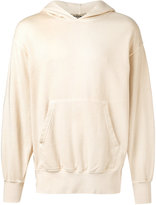Yeezy boxy fit hoodie - unisex - Cotton/Spandex/Elastane - M