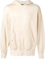 Yeezy boxy fit hoodie - unisex - Cotton/Spandex/Elastane - S