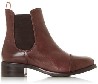 Bertie Pack Low Block Heel Ankle Boots