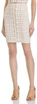 Aqua Lace Mini Skirt - 100% Exclusive