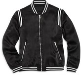 Blank NYC BLANKNYC Girls' Satin Varsity Jacket - Sizes S-XL