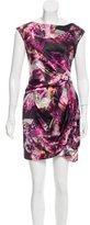 Karen Millen Printed Silk Dress