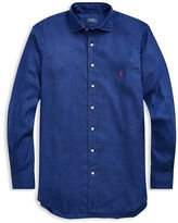 Big & Tall Polo Ralph Lauren Linen Sport Shirt