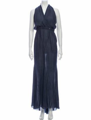 Chanel 2012 Long Dress Blue