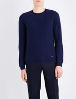 Armani Collezioni Knitted cashmere jumper