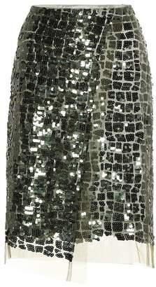 Schumacher Dorothee Sequined pencil skirt