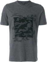 Michael Kors camouflage tweed print T-shirt