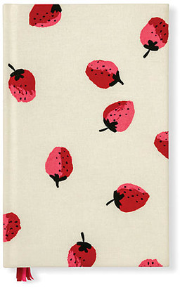 Kate Spade Strawberries Journal - Cream/Red