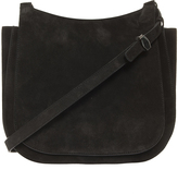 The Row Suede Hunting Bag