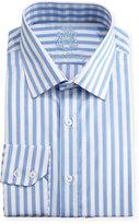 English Laundry Striped Cotton Dress Shirt, Blue
