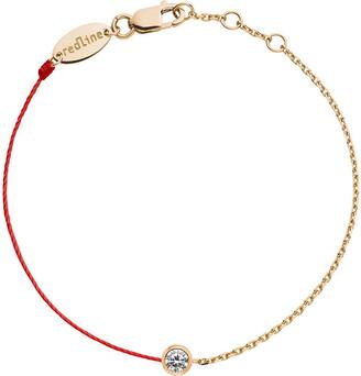 Selfridges Redline 18ct rose gold and diamond pure bracelet