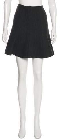 Ralph Lauren Black Label Wool Mini Skirt