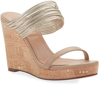 Aquazzura Rendez Vous Wedge Sandals