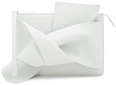 No.21 No. 21 Knotted Clutch in White.