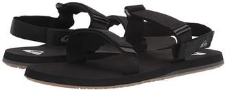 Quiksilver Monkey Caged (Black/Grey/Brown) Men's Sandals