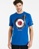 Lambretta Vinyl Target T-Shirt