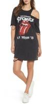 Mimichica Women's Mimi Chica Stones Distressed Band T-Shirt Dress