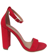Red Arianna Sandal