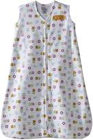 Halo Innovations 2498 Cotton SleepSack Wearable Blanket, White/Print