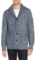 Schott NYC Men's Cable Knit Cardigan