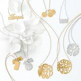 Sarah Chloe Layered 3-Disc Initial Necklace