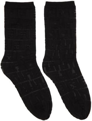 Fendi Black Forever Socks