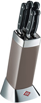 Wesco Classic Line Knife Block with Knives - Warm Grey
