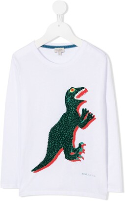 Paul Smith Dinosaur Print Top