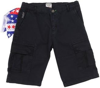 Fred Mello Cotton Gabardine Cargo Shorts